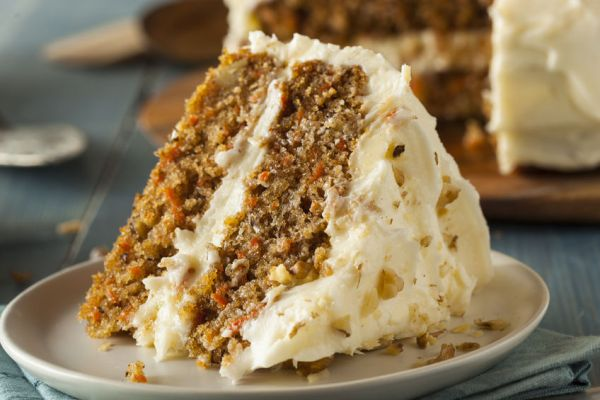 Healthy Homemade Carrot Cake
