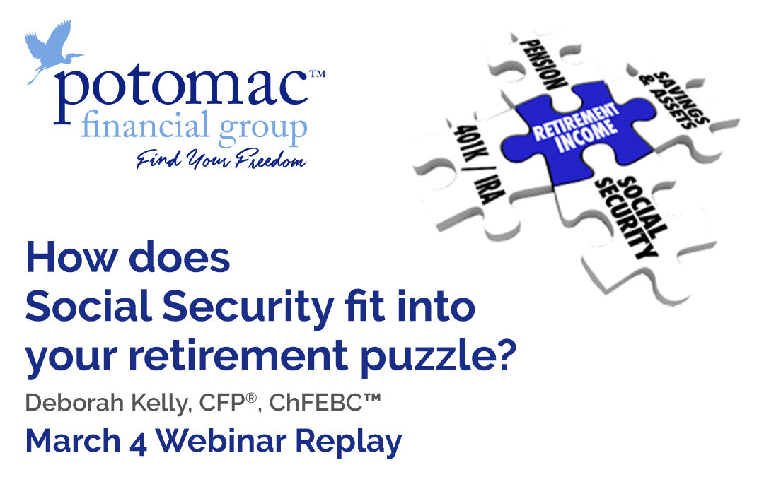 How Does Social Security Fit Into Your Retirement Puzzle?