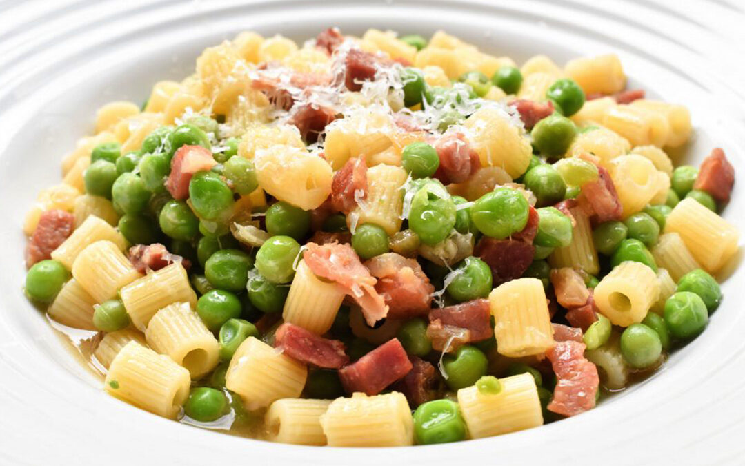 Calabrian Pasta with Peas